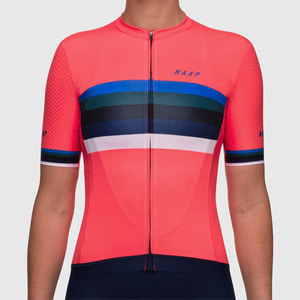 ... WOMENS WORLD PRO HEX JERSEY CORAL ₩198 1292d0f38